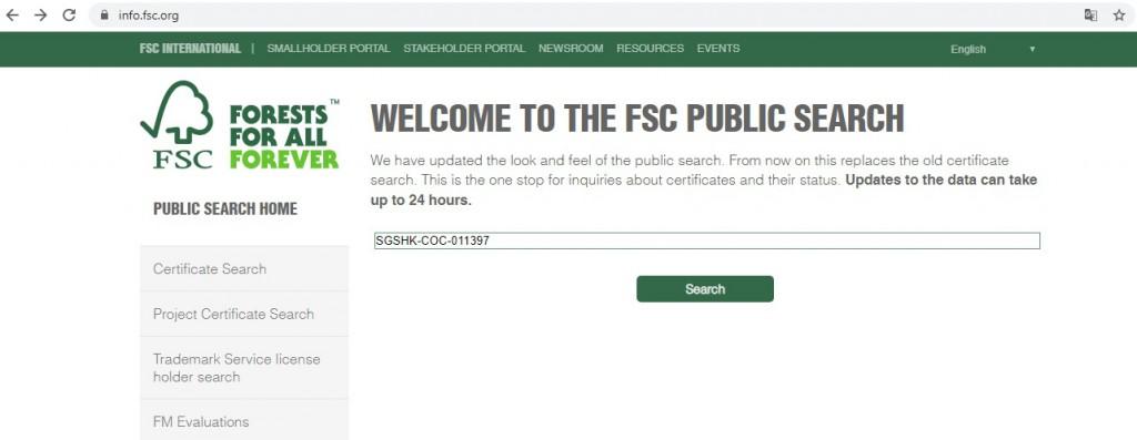 FSC Searching (2)